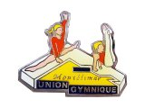 "Vintage Pins(ヴィンテージ・ピンズ) #0552 ""UNION GYMNIQUE"" Pins France"