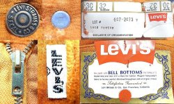 "画像4: Deadstock 1970'S LEVI'S 607 BIG""E"" BELL BOTTOMS 別珍コーデュロイ USA製"