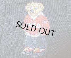 画像4: POLO BEAR TOTE BAG BLACK ポロ・ベアー 刺繍 キャンバス トートバック 黒