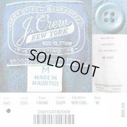 画像4: J.Crew Chamois Shirts DGR Wash加工 ジェイ・クルー シァモアシャツ 鉄青