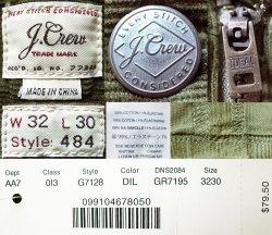 画像5: J.CREW STRETCH 484 SLIM Corduroy Pants DIL コーデュロイ・ストレッチ