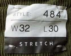 画像3: J.CREW STRETCH 484 SLIM Corduroy Pants DIL コーデュロイ・ストレッチ