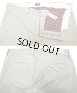 画像2: J.CREW 770 khaki Chino Pants Plaid Lining ジェイ・クルー 赤×黒 裏地付きチノ