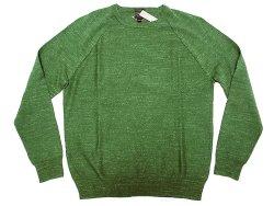 画像1: J.CREW Nep Yarn Cotton Knit Cut&Sewn  ジェイ・クルー ネップ 緑 カットソー