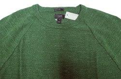 画像3: J.CREW Nep Yarn Cotton Knit Cut&Sewn  ジェイ・クルー ネップ 緑 カットソー