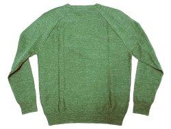画像2: J.CREW Nep Yarn Cotton Knit Cut&Sewn  ジェイ・クルー ネップ 緑 カットソー