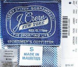 画像4: J.CREW Plaid Flannel Shirts SDU ジェイ・クルー フランネルシャツ Wash加工