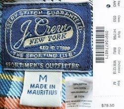 画像4: J.CREW Plaid Flannel Shirts IMU ジェイ・クルー フランネルシャツ Wash加工