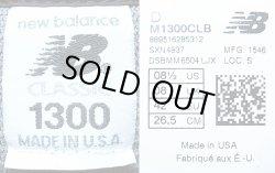 画像5: New Balance M1300CLB CLASSIC 墨黒×チャコール ニューバランス アメリカ製
