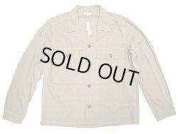 画像1: WALLACE & BARNES by J.Crew Type M-41 Poplin Cotton Shirts JK Beige