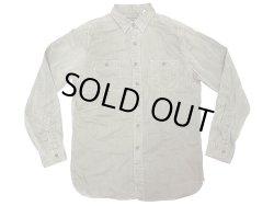 画像1: POLO Ralph Lauren HBT Work Shirts OG ポロ・ラルフ ヘリンボーンワークシャツ
