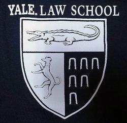"""画像3: Champion College Tee チャンピオン・カレッジTシャツ 紺 """"Yale Law School"""""""