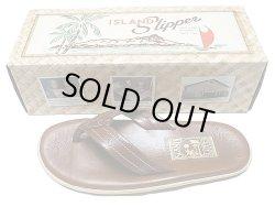 画像1: 【SALE】ISLAND Slipper BUFF アイランド・スリッパ Made in HAWAII 本革 アメリカ製