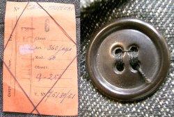 画像4: Deadstock 1950'S European Black Chambray Work Coat 黒シャンブレー Kids EU製