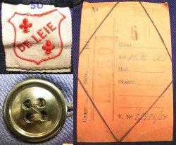 画像3: Deadstock 1950'S DE LEIE European Work JK 紺カツラギ ワークJK EU製