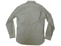 画像2: J.CREW SPTG Gray Chambray Shirts Chin-Strap  One Wash加工 シャンブレー