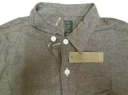 画像3: J.CREW SPTG Gray Chambray Shirts Chin-Strap  One Wash加工 シャンブレー