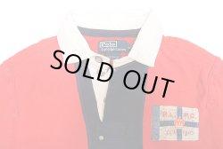 画像3: POLO by Ralph Lauren Rugger shirts ポロ・ラルフ 赤×紺 ラガーシャツ