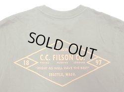 """画像4: Filson Graphic Tee """"C.C.Filson Co"""" Made in USA  フィルソン 前後グラフィックT"""