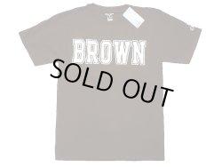 """画像1: Champion®College Tee チャンピオン・カレッジTシャツ 茶 """"Brown University"""""""
