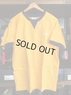 画像2: Deadstock 1990'S CAMBER MAX-WEIGHT Tシャツ 黄×紺  アメリカ製 袋入