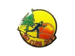 """画像1: Vintage Pins(ヴィンテージ・ピンズ) #0558    """"SKI CLUB SMM""""  Pins 1990'S"""