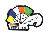 "Vintage Pins(ヴィンテージ・ピンズ) #0596  ""COMMISSAIRES  CORPS DES"""