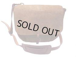 画像1: Double RL(RRL) Cowhide Ranch Shoulder Bag ランチ・ショルダーバック アメリカ製