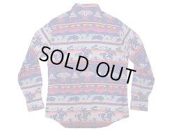 画像2: POLO Ralph Lauren Western Shirts Classic Fit 織生地 ウエスタンシャツ