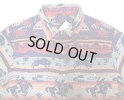 画像3: POLO Ralph Lauren Western Shirts Classic Fit 織生地 ウエスタンシャツ