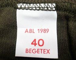 画像4: Deadstock 1989'S Belgium ARMY Knit ベルギー軍 ウールコットン カットソー