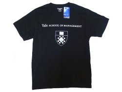 "画像1: Champion®College Tee チャンピオン・カレッジT 紺 ""Yale School of Management"""