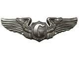 Deadstock US.Military Pins #675 US.ARMY Glider Pilot Pewter Wings Pin 大