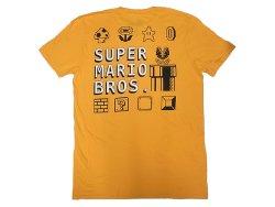 画像2: SUPER MARIO BROS. 100%COTTON スーパーマリオブラザーズ 黄 Tee