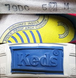 画像4: Deadstock 1970'S Keds JUMP SHOT RED BM118 BOYS SIZE 5H-M 箱付