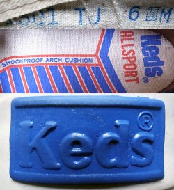 画像4: Deadstock 1970'S Keds ALL SPORTS  MK563 NAVY ケッズ 紺×白 箱付