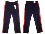 Calvin Klein Slim Fit Uniform Trousers カルバンクライン ライン入りパンツ紺×赤