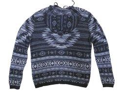 画像2: POLO Ralph Lauren Native Pattern Knit Hoodie ネイティブ柄 ニットパーカー