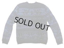 画像2: POLO Ralph Lauren Westren Pattern Sweater カウボーイ柄 クルーセーター