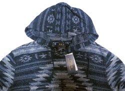 画像3: POLO Ralph Lauren Native Pattern Knit Hoodie ネイティブ柄 ニットパーカー