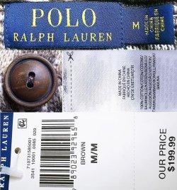 画像4: POLO Ralph Lauren Native Shawl Collar Cardigan ネイティヴ柄 コットン・カーデ