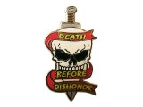 Deadstock US.Military Pins #713 Death Before Dishonor Special Forces Pin