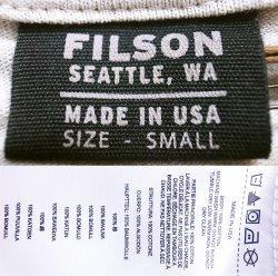"""画像4: Filson Graphic Tee """"Fly Fishing""""Light Stone フィルソンT 毛バリ アメリカ製"""
