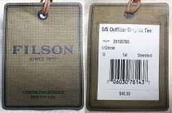 """画像5: Filson Graphic Tee """"Fly Fishing""""Light Stone フィルソンT 毛バリ アメリカ製"""