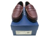 BROOKS BROTHERS Duke Brown Grain Beefroll Made by Allen Edmonds USA製