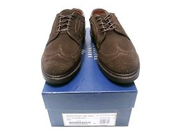 画像1: BROOKS BROTHERS Macneil CHOC SUEDE Made by Allen Edmonds USA製