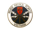 Deadstock US.Military Pins #762 US.NAVY RIVER PATROL FORCE Vietnam