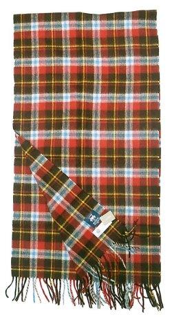画像3: J.CREW別注 MOON Pure Mreino Wool  Stole Plaid ジェイクルー イギリス製