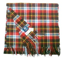 画像2: J.CREW別注 MOON Pure Mreino Wool  Stole Plaid ジェイクルー イギリス製