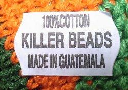 画像3: KILLER BEADS Dreadlocks Cotton Knit Cap ドレッドロックス帽 レゲエ・タム #155